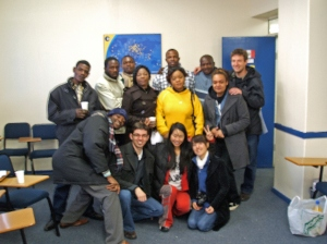 The Celta class and some of our students