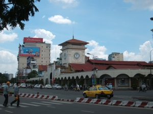 Ben Thanh - a big covered market in town.