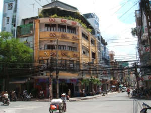 Bui Vien - near my hotel.