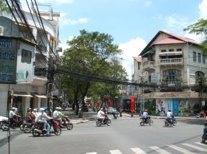 Street scene, HCMC