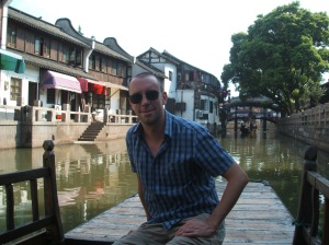 Me in the canal